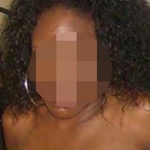 Une fille black en manque de sexe sur Poitiers